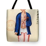 China Smallpox Tote Bag