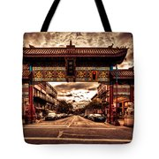 China Town Victoria Tote Bag