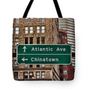 Chinatown Boston Tote Bag