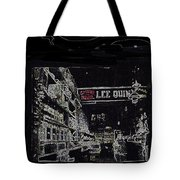 Chinatown Homage Tucson Arizona Circa 1885 1885-2009 Tote Bag