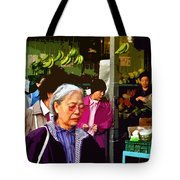 Chinatown Marketplace Tote Bag