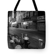Chinatown New York City - Joe's Ginger On Pell Street Tote Bag
