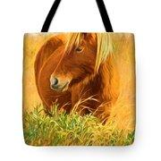 Chincoteague Pony Profile Tote Bag