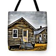 Chincoteague Shanty Artsy Tote Bag