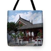 Chinese Bonsai Garden Tote Bag