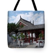 Chinese Bonsai Garden Tote Bag