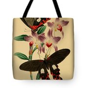 Chinese Butterflies Tote Bag by Philip Ralley