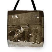 Chinese Cobbler San Francisco California Chinatown Circa 1900 Tote Bag