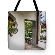 Chinese Courtyard Tote Bag