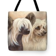 Chinese Cresteds Tote Bag