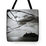 Approaching Cochin Tote Bag