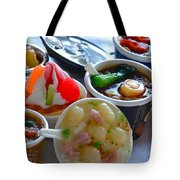 Chinese Food Miniatures 4 Tote Bag