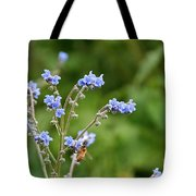 Chinese Forget Me Nots Tote Bag