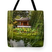 Chinese Garden Breeze Tote Bag