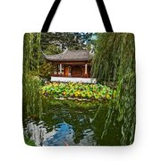 Chinese Garden Dream Tote Bag