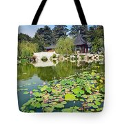 Chinese Garden - Huntington Library. Tote Bag