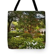 Chinese Garden View Tote Bag