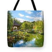 Chinese Garden Vista Tote Bag