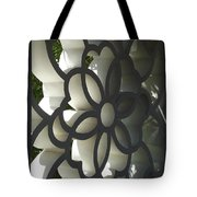 Chinese Garden Window Tote Bag