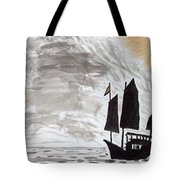 Chinese Junk Tote Bag