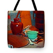 Chinese Kitchen Cookware Tote Bag