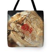 Chinese Lantern Plant - H Tote Bag