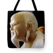 Chinese Man Tote Bag
