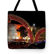 Chinese New Year 2012 Dragon Sculpture Decoration Panorama Tote Bag