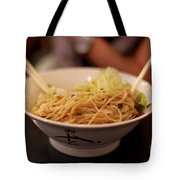 Chinese Noodle Dish Tote Bag