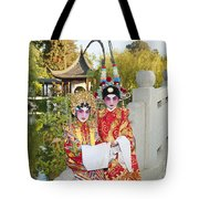 Chinese Opera Children - Traditional Chinese Opera Costumes. Tote Bag