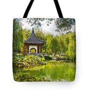 Chinese Pagoda Tote Bag