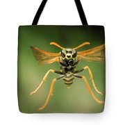 Chinese Paper Wasp Tote Bag