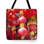 Chinese Red Lanterns Tote Bag