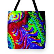 Chinese Tapestry Abstract Tote Bag