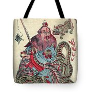 Chinese Wiseman Tote Bag