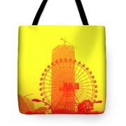Chinese Wonder Wheel Tote Bag