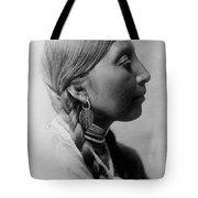 Chinookan Indian Woman Circa 1910 Tote Bag