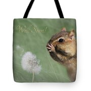 Chippy Get Well Soon Tote Bag