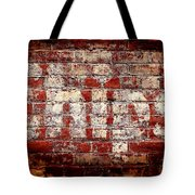 Chips Brick Wall Tote Bag