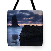 Chiseled By The Sea Tote Bag