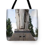 Chisletti Bonelli Memorial Front View Monumental Cemetery Milan Tote Bag