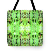 Chive Abstract Green Tote Bag