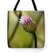 Chive In Bloom Tote Bag