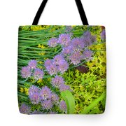 Chives 3 Tote Bag