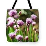Chives Tote Bag