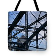 Choas In The City Tote Bag