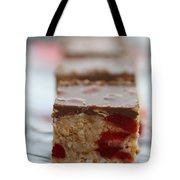 Chocolate And Cherry Tote Bag