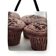 Chocolate Chocolate Chip Muffins - Bakery - Breakfast Tote Bag