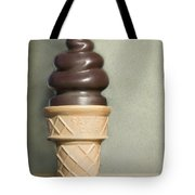 Chocolate Dipped Cone Tote Bag