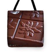 Chocolate Flower  Tote Bag